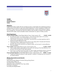 veteran resume objective examples best online resume builder veteran resume objective examples how to prepare a military resume part 3 bradley morris resume examples