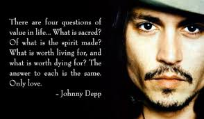 Top 21 renowned quotes about johnny depp picture English ... via Relatably.com