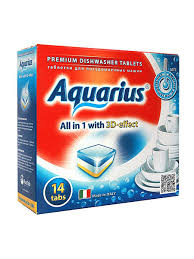 "<b>Таблетки для ПММ</b> ""<b>Aquarius</b>"" <b>ALL</b> in1 (mini) 14 шт. AQUARIUS ..."