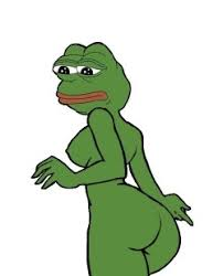 rare pepe memes — naked female pepe via Relatably.com