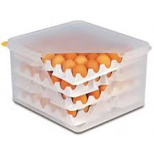 <b>Контейнер для хранения</b> яиц 35,<b>4</b>*32,<b>5</b> см. h= 20 см. 8 лотков с ...