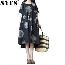 NYFS 2020 новое <b>летнее платье</b> винтажное <b>свободное</b> ...