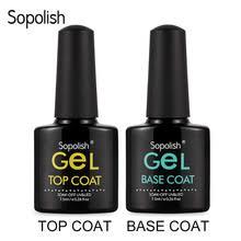 Sopolish 7,5 мл верхнее Базовое <b>покрытие</b> гель лак верхнее ...