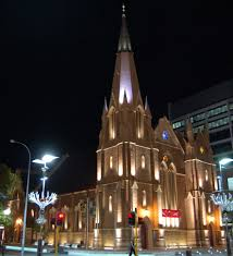 light up the city building facade lighting
