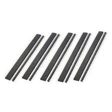 20 Pair 40 Pin <b>2.54mm</b> Male Female SIL Socket Row Strip PCB ...