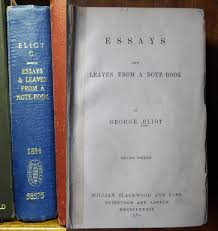 on reading writing and living books london library blog george eliot essays montags