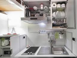 kitchen storage racks open cabinets