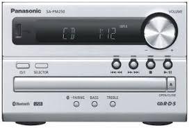 Музыкальный центр <b>Panasonic SC</b>-<b>PM 250</b> EE-S купить в ...