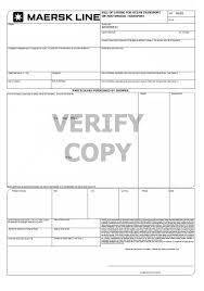what is the difference between mbl master bill of lading and hbl bill of lading sample