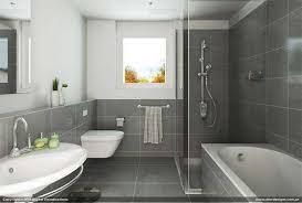 simple contemporary bathroom interior