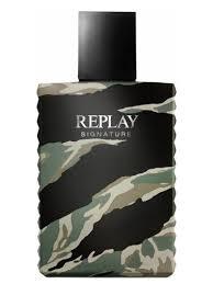 <b>Replay Signature Man</b> Edt 30ml | Perfumes para homens ...
