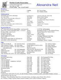 resume alexandra neil resume as pdf middot alexandra neil resume