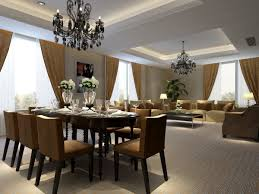 Trendy Dining Room Tables Luxury Dining Room With Classic Decoration And Extraordinary