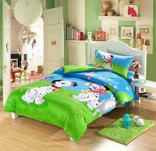 dog print kids bedding sets boys girls twin size doona quilt duvet cover cartoon 100 bedding sets twin kids