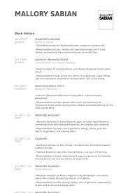 visual merchandiser resume samples   visualcv resume samples databasevisual merchandiser resume samples