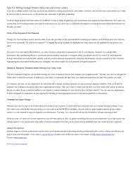 cover letter tips for students cover letter college tips for kids writing tips for college students top rated writing website