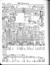 mercury wiring diagrams the old car manual project 1962 6 monterey