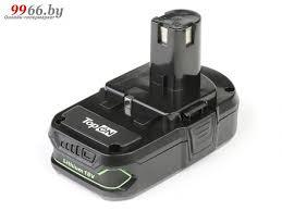 <b>Аккумулятор TopON TOP</b>-<b>PTGD</b>-RY-18-<b>1.5</b>-<b>Li для</b> Ryobi 18V <b>1.5</b>Ah ...