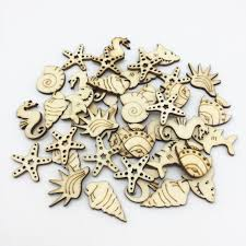 <b>50pcs</b> Natural <b>Marine</b> Lifes Mixed Seahorse Conch Starfish Shark ...