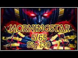 MORNINGSTAR <b>5</b> Star Rank Up <b>5</b>/65 Gameplay Marvel Contest Of ...