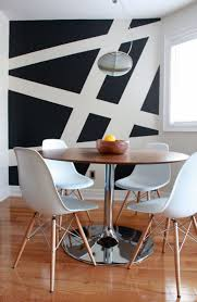 simple geometric paint decor ideas  leclair decor ogilvie condo  copy