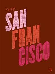 「san francisco words」の画像検索結果