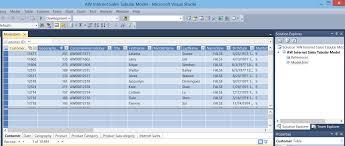 business intelligence semantic model creating your first tabular tabular model