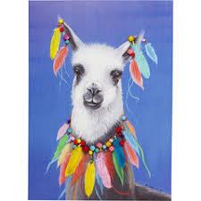 Купить <b>картины</b>, панно KARE Design <b>Lama Pom Pom</b>, коллекция ...