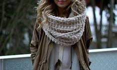 Пример звезд: как завязывать <b>шарф</b>? — www.wday.ru