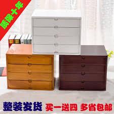 office makeup organizer desktop debris storage box real wooden jewelry storage box small drawer type desk cheap office drawers