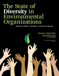 new report highlights the lack of diversity at environmental the state of diversity in environmental organizations mainstream ngos foundations government agencies