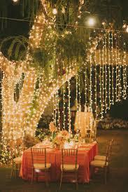 creative spring backyard awesome backyard wedding lighting backyard wedding lighting