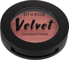 Divage <b>Velvet Румяна</b> компактные, тон № 8703 — купить в ...