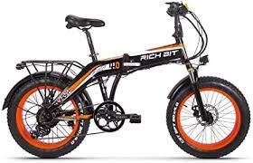 GUOWEI <b>Rich BIT RT-016 48v</b> 500w 9.6Ah 20 inch Folding Fat Tire ...