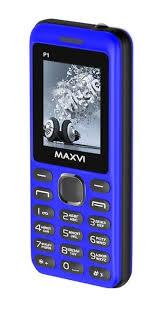 Мобильный <b>телефон MAXVI P1</b> Blue-black — купить в интернет ...