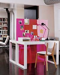 this is an old image i saved from blueprint i like the colored plexi partitions blueprints office desk preview save