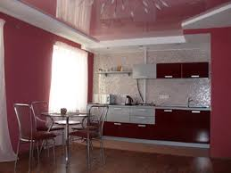painted blue kitchen cabinets house: adorable purple kitchen painting ideas walls that has wooden floor with iron chair that can add
