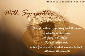 Sympathy Messages Wishes and Sympathy Quotes Messages, Greetings ...