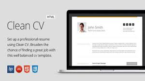 clean cv responsive resume template 4 bonuses website clean cv responsive resume template 4 bonuses website templates and themes