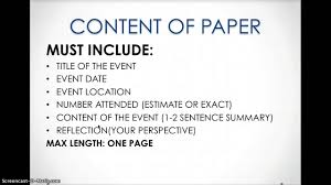 how to write an event reflection paper how to write an event reflection paper