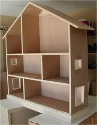 Doll House Plans for American Girl or inch dolls   Room   NOT    Ana White   Build a Dollhouse Bookcase   Free and Easy DIY Project and Furniture Plans
