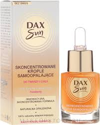 <b>Концентрат для автозагара</b> - Dax Sun Self-tanning Concentrated ...