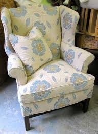 wingback chairs chairs and chair upholstery on pinterest chair upholstery fabric 2