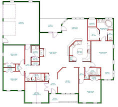 Single Story One Bedroom House Plans   Home Design Mini s And    One Story Bedroom House Plans Floor
