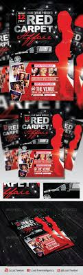 red carpet affair 3 flyer template by louistwelve design red carpet affair 3 flyer template clubs parties events