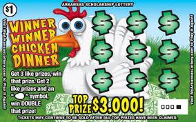 <b>Winner Winner Chicken</b> Dinner | Arkansas Scholarship Lottery
