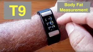 ALFAWISE T9 <b>Body</b> Fat <b>Fitness</b> Tracker <b>Smart</b> Sports <b>Bracelet</b> ...
