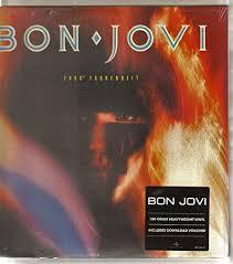 <b>BON JOVI</b> - 7800 FAHRENHEIT - <b>180</b> gram - LP vinyl record ...