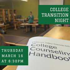 ampamp prep table: dvfs parents are invited to attend an evening conversation about college transition retention and success for the ld student on thursday