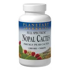 Planetary Herbals <b>Nopal Cactus Full Spectrum</b> 1000 Mg Tablets ...